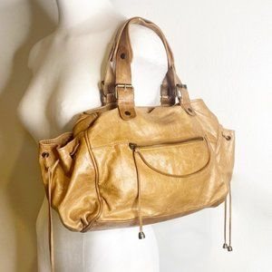 Gerard Darel | Beautiful Boho Leather Hobo bag